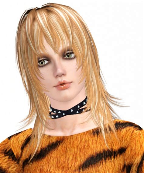 sims 3 custom content fringe hairstyle the sims 3 the island fringe hairstyle by kijiko