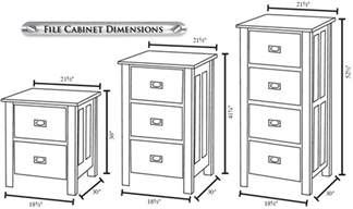Typical File Cabinet Dimensions File Cabinet Ideas 2 And 4 Hon Drawer Comics Storage