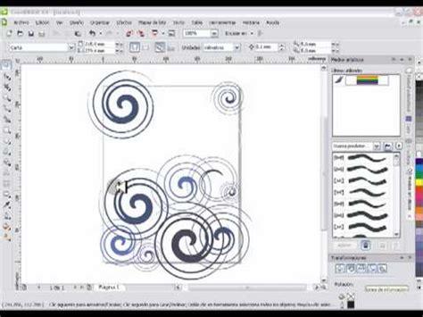 tutorial de como aser una invitacion en coreldraw wmv doovi coreldraw x4 fondo con espirales