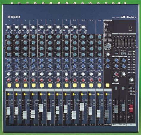 Mixer Yamaha Mg 16 yamaha mg16 6fx
