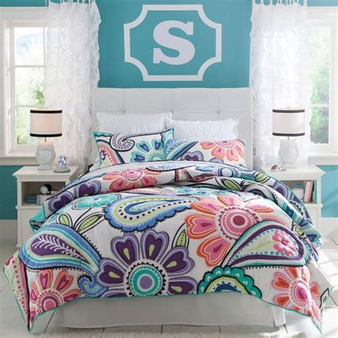 kennedy paisley quilt sham pbteen shelby s room paint quilt and colors