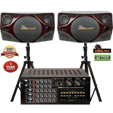 Power Lifier Ip 999 Ii Karoke Profesional idolpro ip 888 ii 1200w mixing lifier plus ips 690 professional studio speakers combo