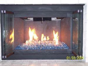 glass rock fireplace glass fireglass blue fireplace and pit glass