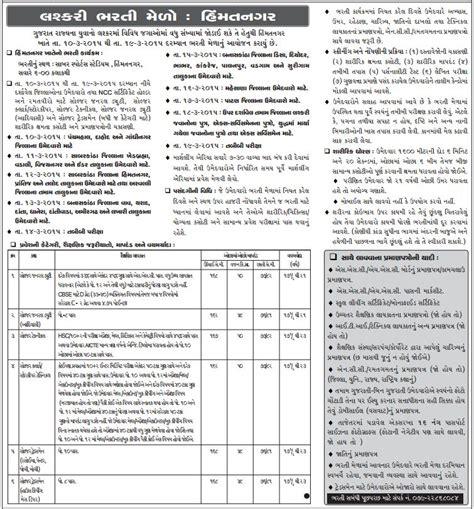 army bharti pattern gujarat lashkari army bharti melo himmatnagar 2015