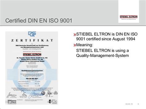 Stiebel Eltron Eschwege by Stiebel Eltron The Company
