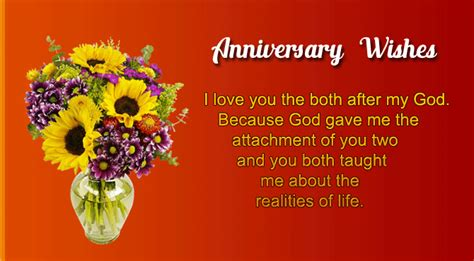 Wedding Anniversary Wishes In Urdu by Anniversary Wishes For Parents Wishes4lover