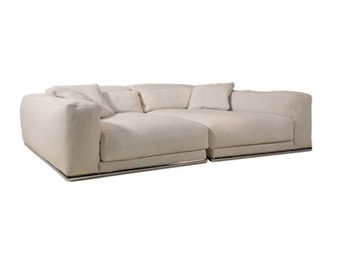 upholstered leather sofa cinephile particuli 200 re collection