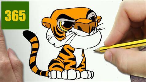 imagenes de tigres kawaii comment dessiner shere khan kawaii 201 tape par 201 tape