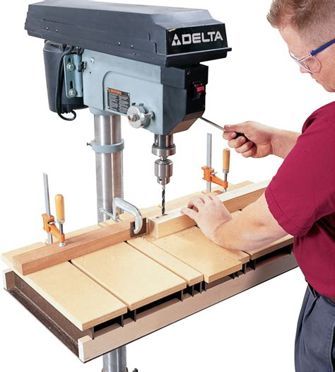 woodworking drill press drill press table aw popular woodworking magazine