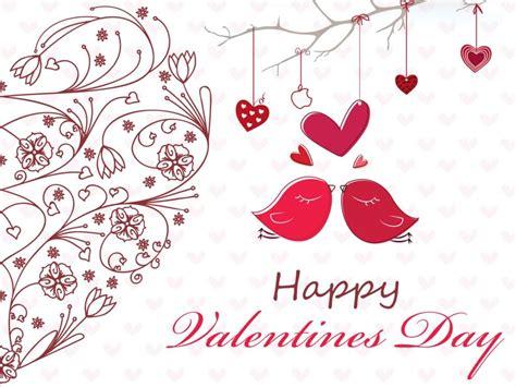 happy valentines day love birds pictures