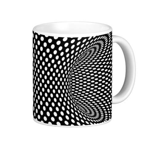 Coffee Mug Design cool gifts for the optical illusion enthusiast