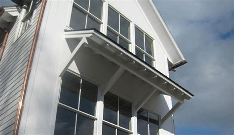 How To Build Window Awnings by Porches On