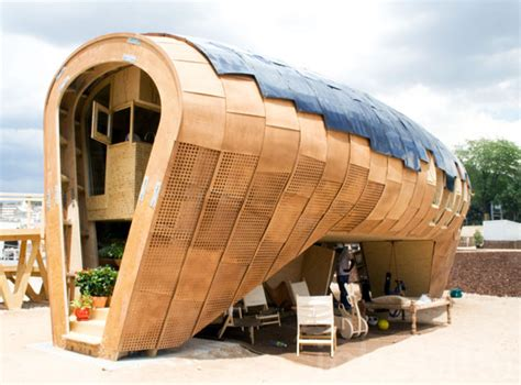 stunning fablab passive house unveiled at europe s solar