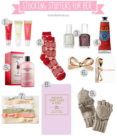 Stocking Stuffers For Her | stocking stuffers and gift guide for her katie did what
