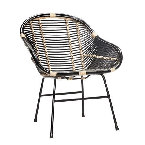 Furniture Chairs Black Rattan Chair Furniture