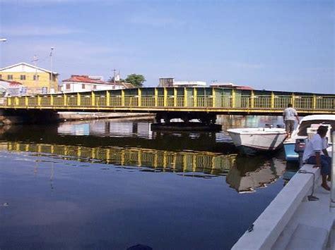swing bridge belize belize swing bridge picture of belize city belize