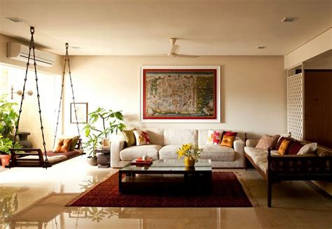 indian sitting room traditional indian homes wooden swings and tapestry on