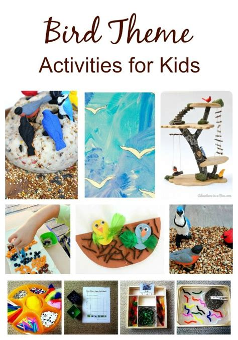 bird activities for kids