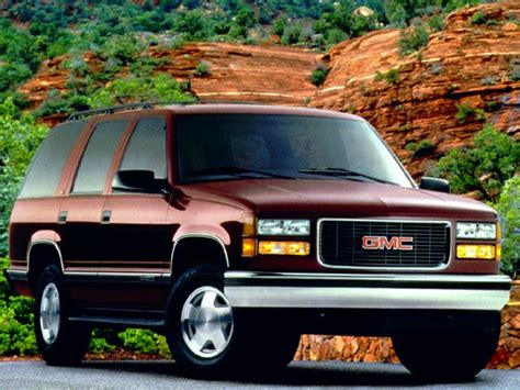how it works cars 1999 gmc yukon engine control 1999 gmc yukon information