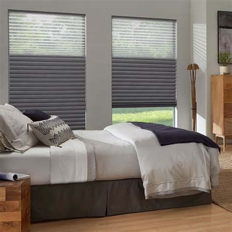 blackout blinds for bedroom premier 2 quot blackout cellular shades natural light