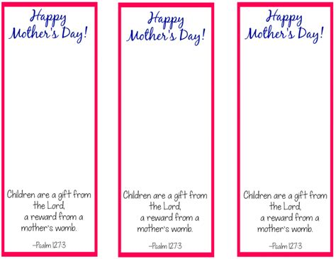 printable bookmark ideas free printable bookmark craft for mother s day bookmarks
