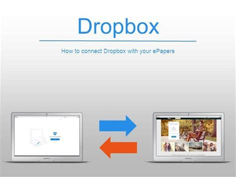 dropbox not connecting how to connect dropbox with your epapers authorstream