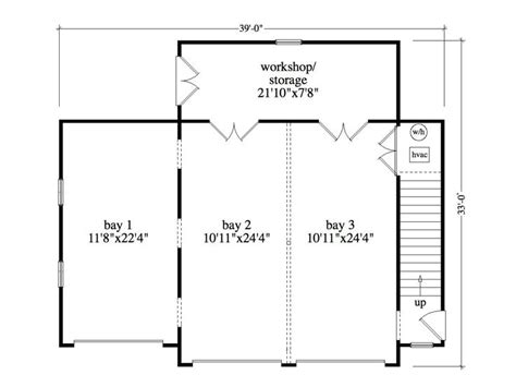 3 bay garage plans 3 bay garage floor plans