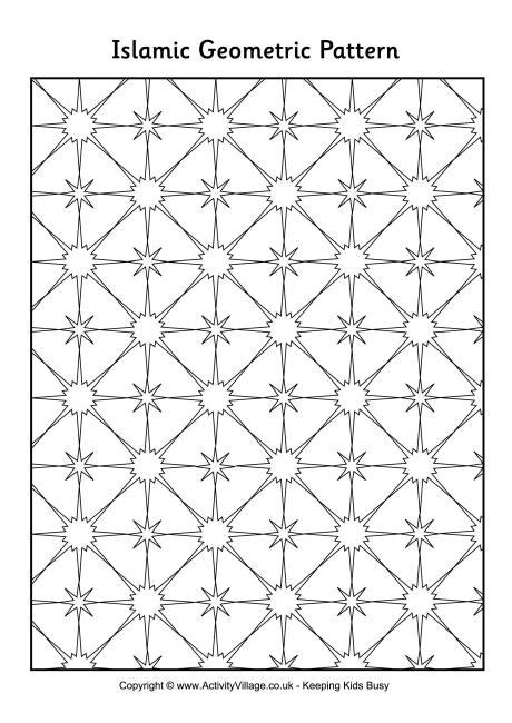 islamic tile coloring pages 9 images of islamic geometric patterns coloring pages
