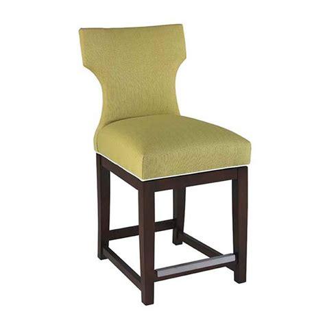 designer upholstered counter stools donovan custom upholstered swivel barstool luxe home company