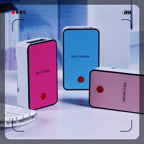 elektrische kachel op accu mini draagbare ventilator kachel hoge kwaliteits accu