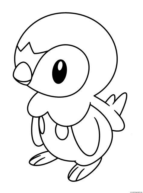 pokemon coloring pages of piplup desenhos pokemon para imprimir colorir e pintar nova