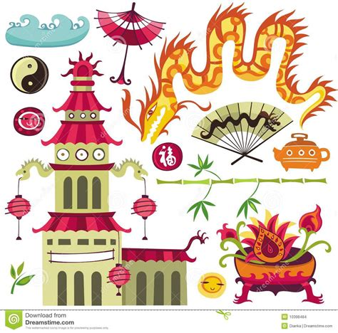 asian designs asian design elements stock images image 10398484