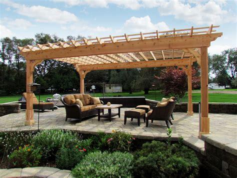 pergola beams for sale 12 x 18 custom cedar 2 beam pergola contemporary