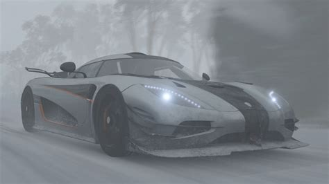 koenigsegg snow koenigsegg one 1 vs the snow blizzard mountain