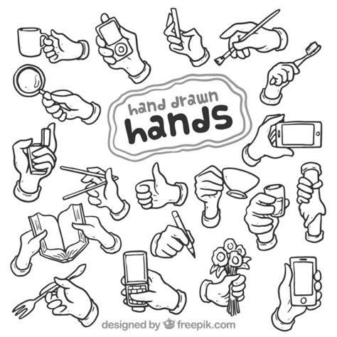 hand drawn vector tutorial hand drawn hands vector free download