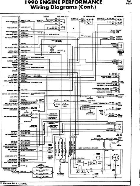 1994 corvette ecm gm ecm tpi wiring diagram gm free engine image for user