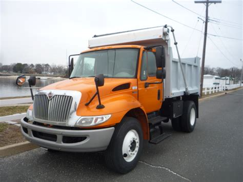 international semi truck used 2011 international 4300 dump truck for sale in in new