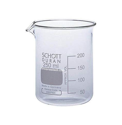 Gelas Ukur Pyrex 250ml jual duran 2110648 beaker low 600ml gelas kimia