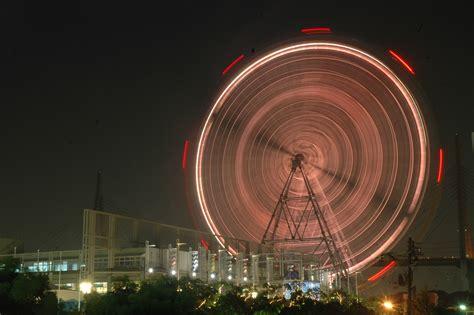 Night Stand 20050722 0680 big ferris wheel at night