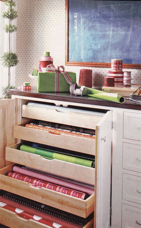 craft room paper storage wrapping paper storage craft rooms