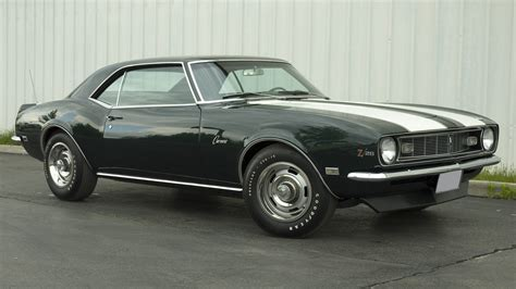 1968 chevrolet camaro z28 rs coupe 302 295 hp 4 speed mecum 1968 chevrolet camaro z28 coupe 302 ci 4 speed lot f154