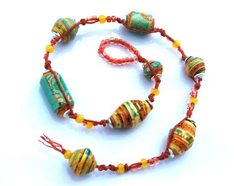 How To Make Paper Bead Bracelets - 607 best dyi handmade jewelry images on