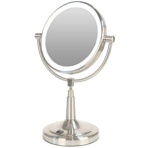 Fogless Bathroom Mirror Zadro 174 1x 5x Fogless Shower Mirror With Surround Light And Alarm Clock 191936