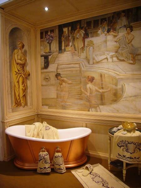 donne al bagno il dell affresco affreschi in bagno