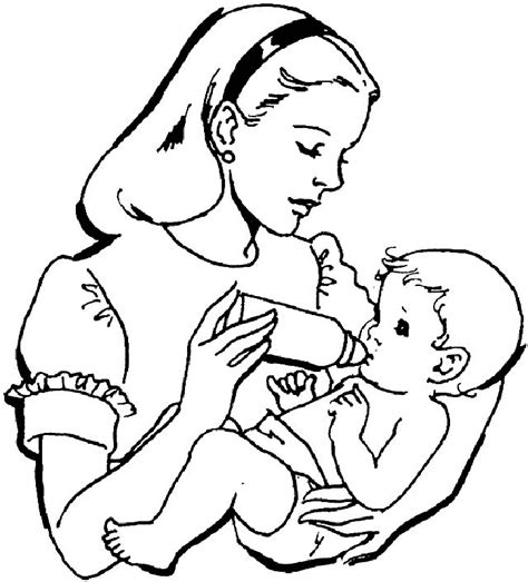 Free Baby Coloring Pages baby coloring book pages az coloring pages