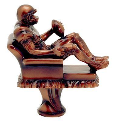armchair qb 25 best ideas about fantasy football trophies on