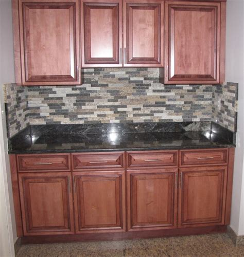 stone veneer kitchen backsplash thin stone veneer traditional kitchen detroit by