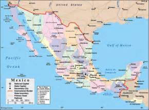mexico and map maps of mexico