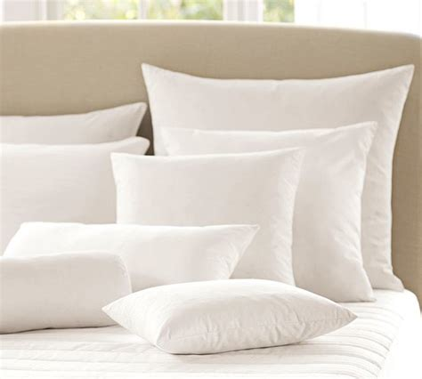 feather bed pillows feather down blend pillow inserts traditional bed