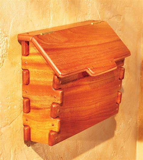 mailbox woodworking plans greene and greene mailbox popular woodworking magazine